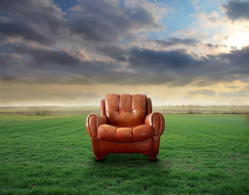 扶手椅子 库存照片