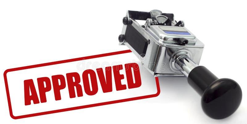 批准 免版税库存照片