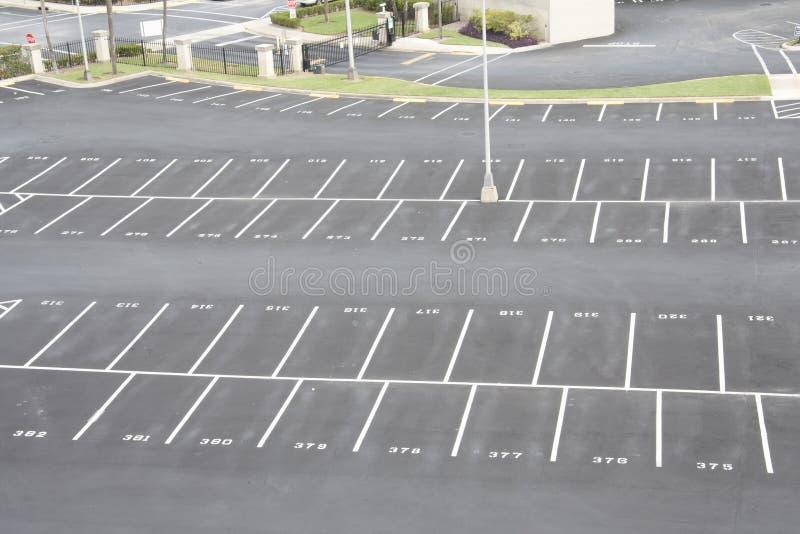 批次计算的停车 免版税库存图片