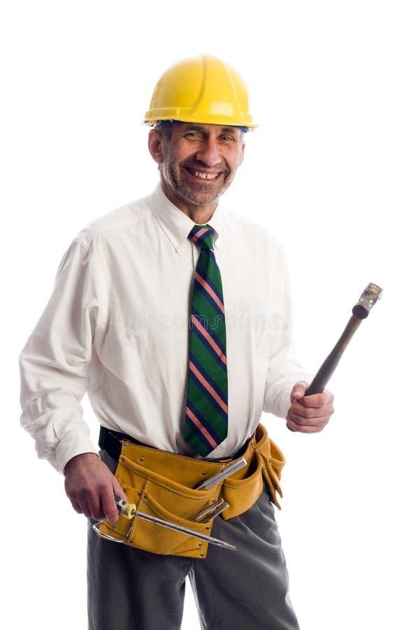 承包商房主工具 免版税库存图片