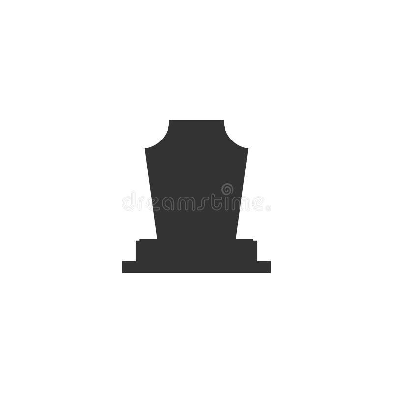 承担礼仪服务的葬礼服务处 葬礼机构 传染媒介商标和象征 向量例证