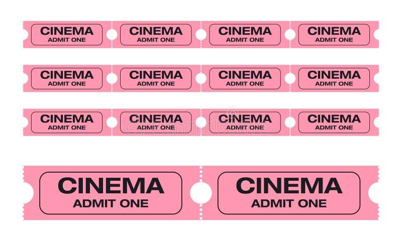 承认戏院一卖票 库存例证