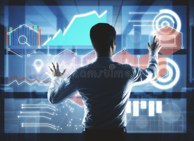 技术、创新和通信概念 图库摄影