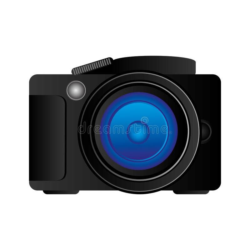 技术专业照相机象 皇族释放例证