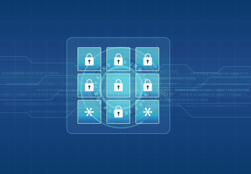 技术互联网网络安全设计背景 皇族释放例证