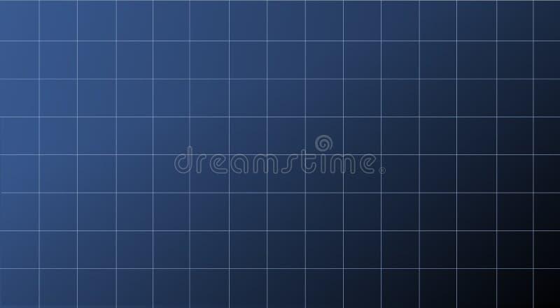 技术图的蓝色抽象净背景 库存照片