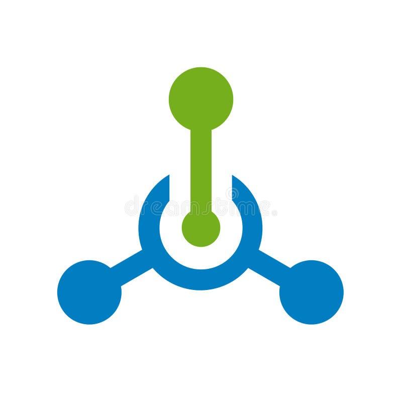 技术或技术商标,插孔连接象,传染媒介例证 库存例证