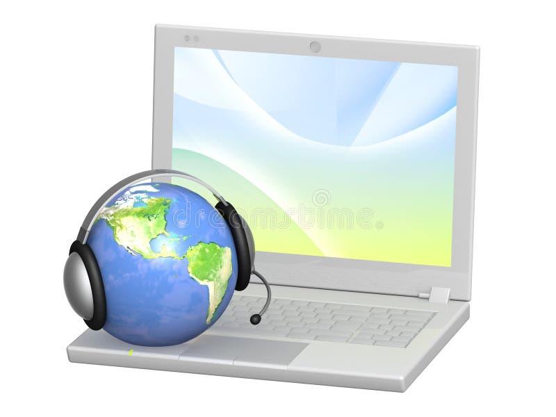 技术支持 免版税图库摄影