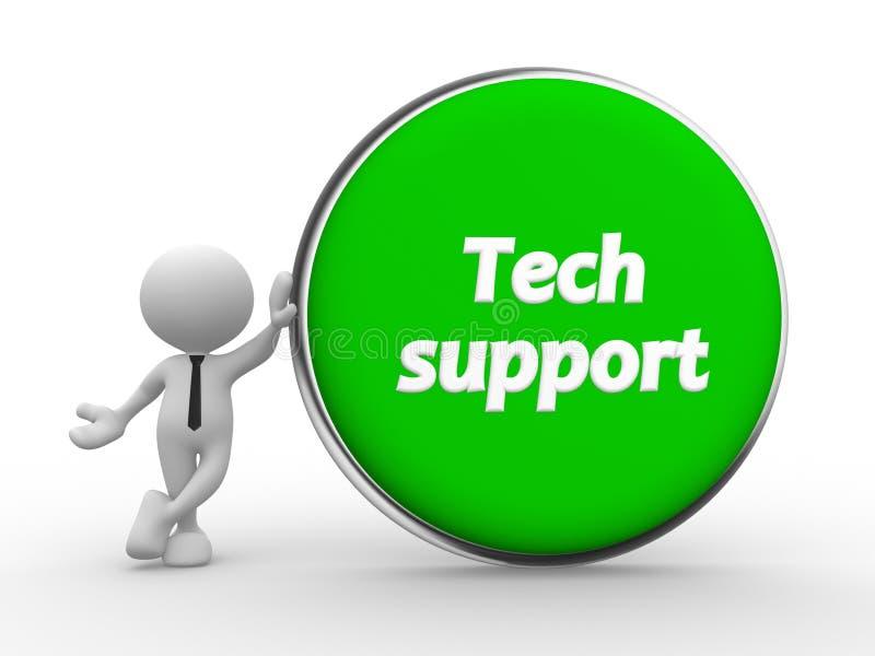 技术支持 向量例证