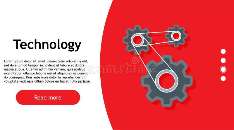 技术数字式机械齿轮概念传染媒介 网络轮子企业背景标志 技术元素嵌齿轮mahine 技术futu 向量例证