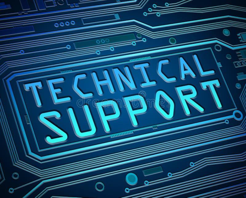 技术概念的技术支持 皇族释放例证
