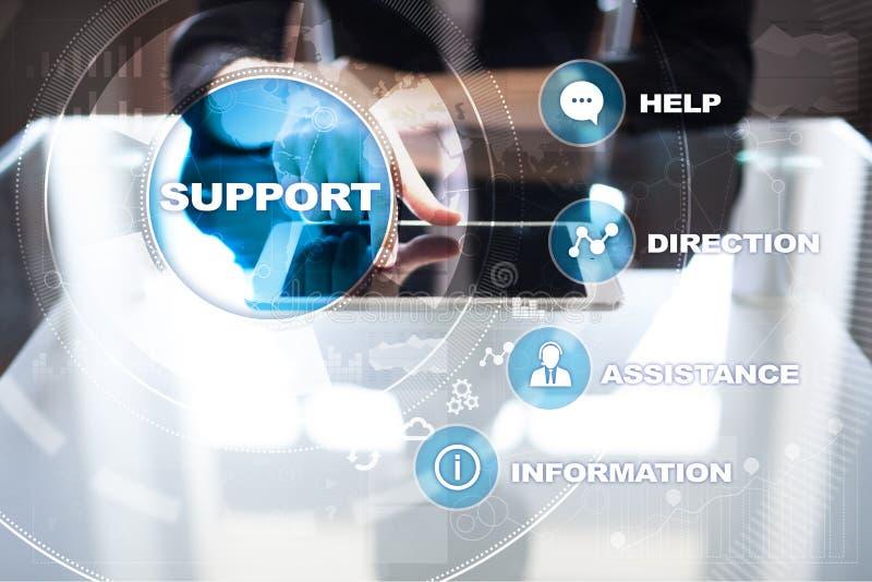 技术的技术支持 顾客帮助 企业和技术概念 免版税库存照片