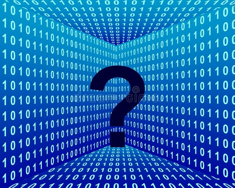 技术的查询 免版税图库摄影