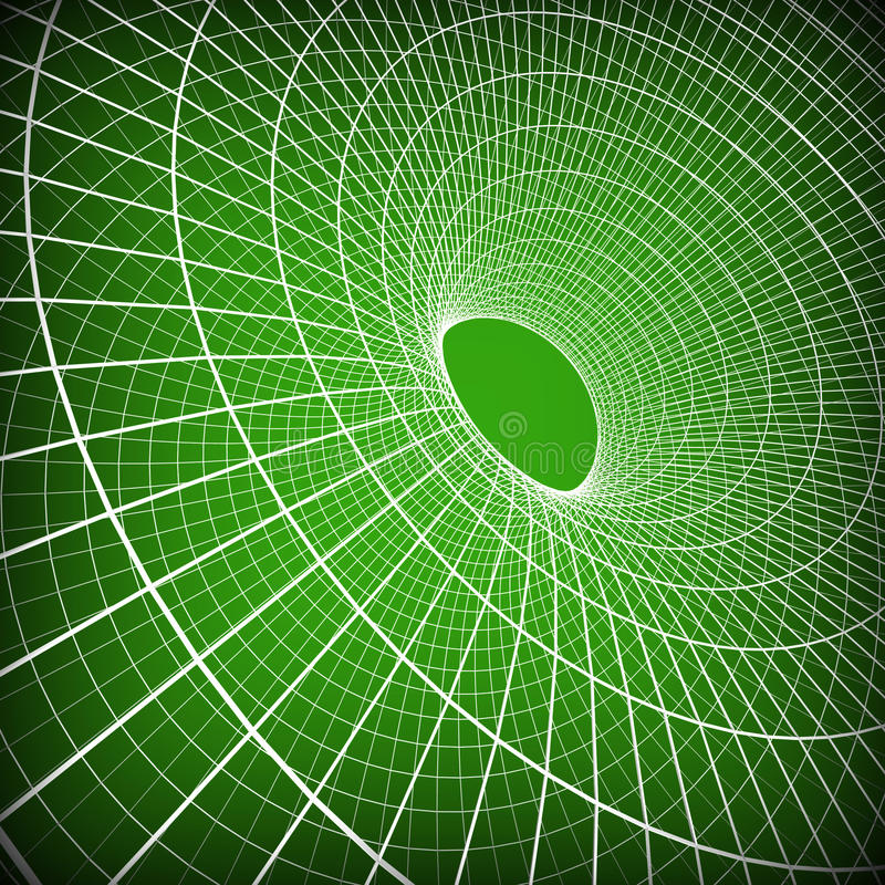技术背景表明波浪数字式和艺术品 向量例证