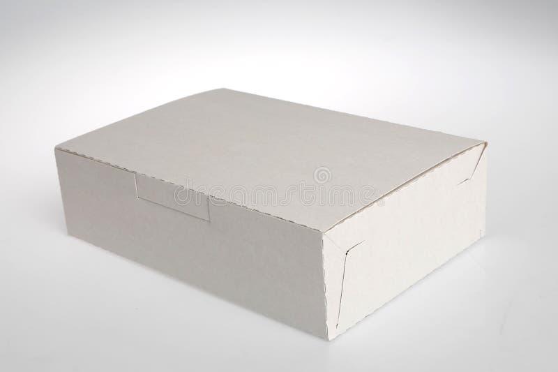 把白色装箱 免版税库存照片