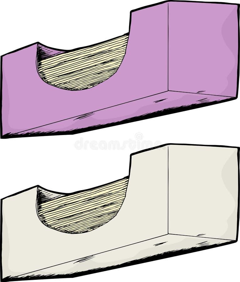把通用组织装箱 向量例证