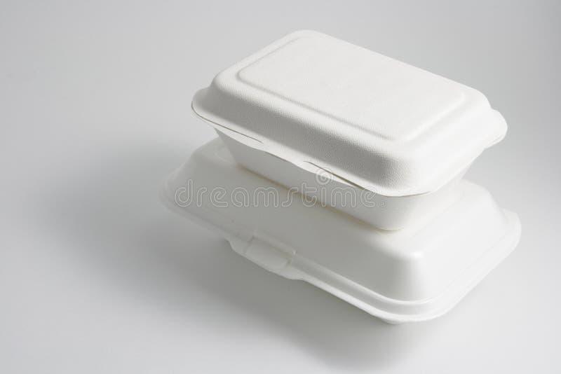 把食物装箱 库存照片