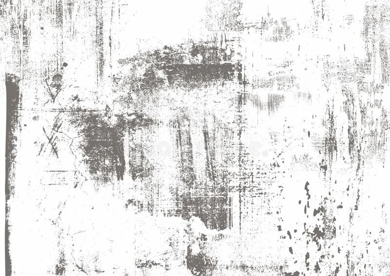 抓痕难看的东西都市灰色,白色,黑背景 您的设计的困厄纹理 传染媒介都市背景 地方不适 库存例证