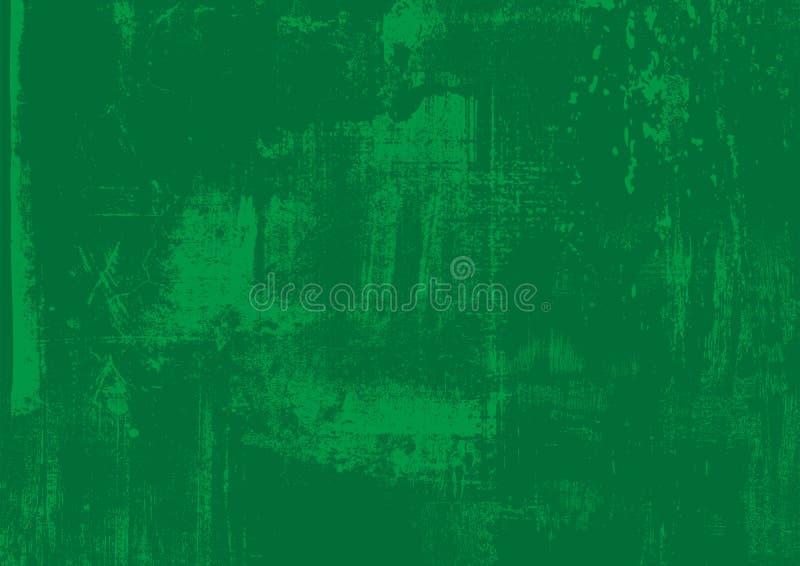 抓痕难看的东西都市绿色,草本背景 您的设计的困厄纹理 传染媒介都市背景 地方不适 向量例证