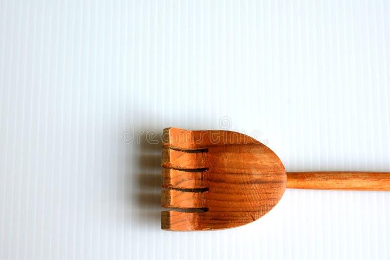 抓的木头  免版税库存图片