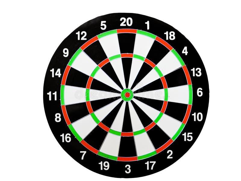 投掷击中在掷镖的圆靶的目标中心的箭头 击中目标目标目标成就概念背景的成功 箭和da 库存照片