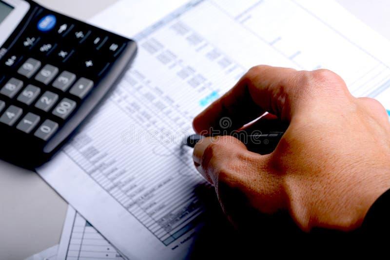投标 免版税库存图片