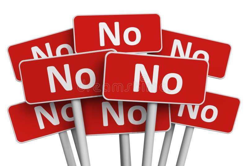 投票和拒付概念 向量例证