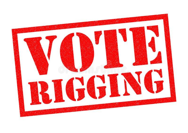 投票操纵 皇族释放例证