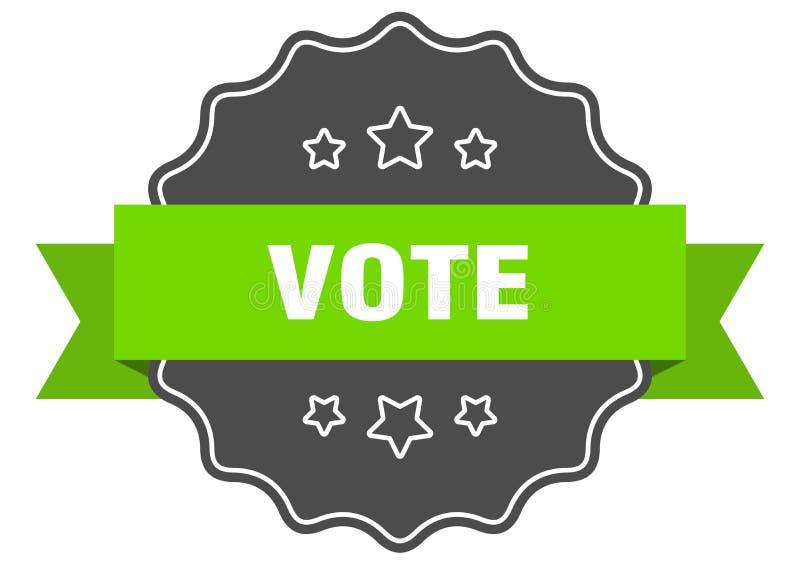 投票标签 向量例证
