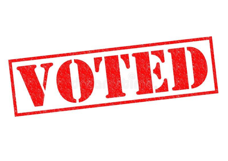 投票 免版税库存图片