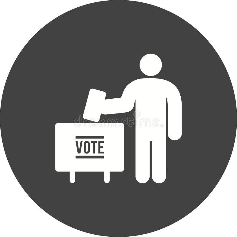 投票 向量例证