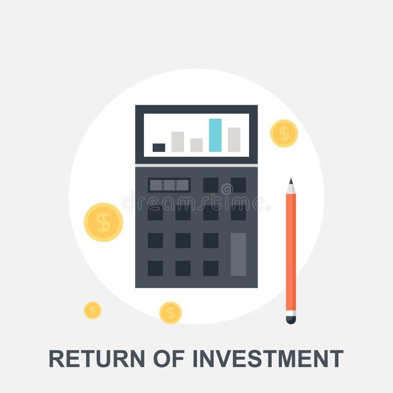 投资回归  库存例证