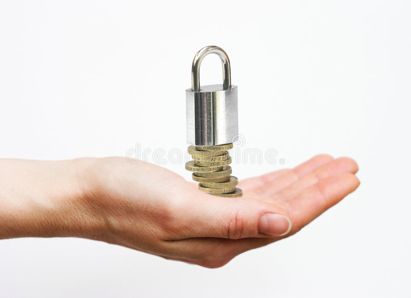 投资安全 免版税库存图片