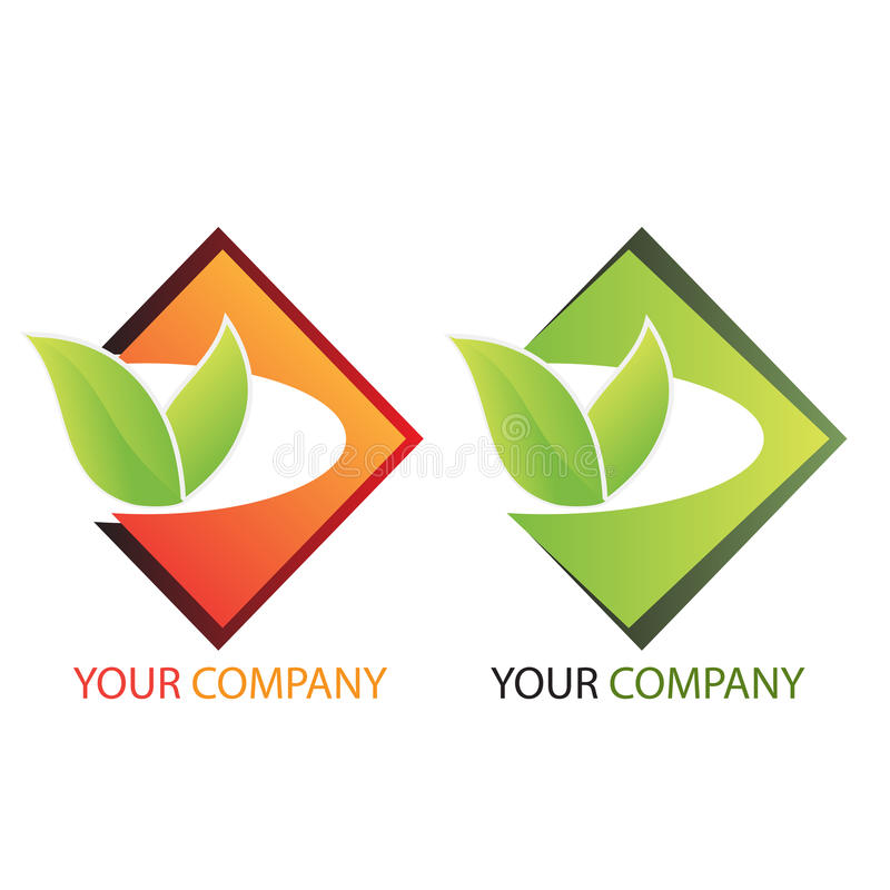 投资徽标的商业公司 向量例证