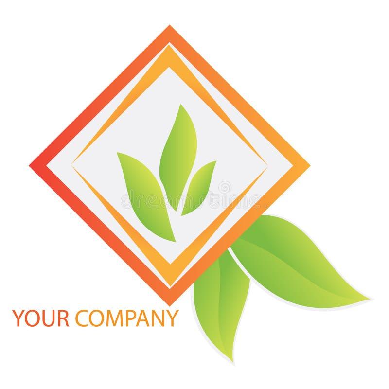 投资徽标的商业公司 皇族释放例证