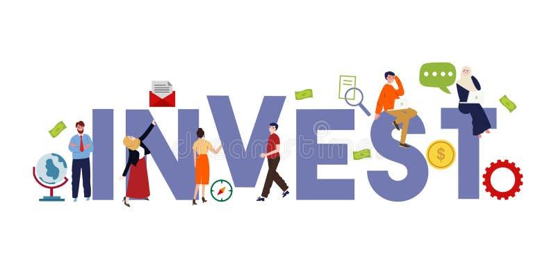 投资拯救金融经济战略 商业投资解决方案,分析概念 现金分析 库存例证