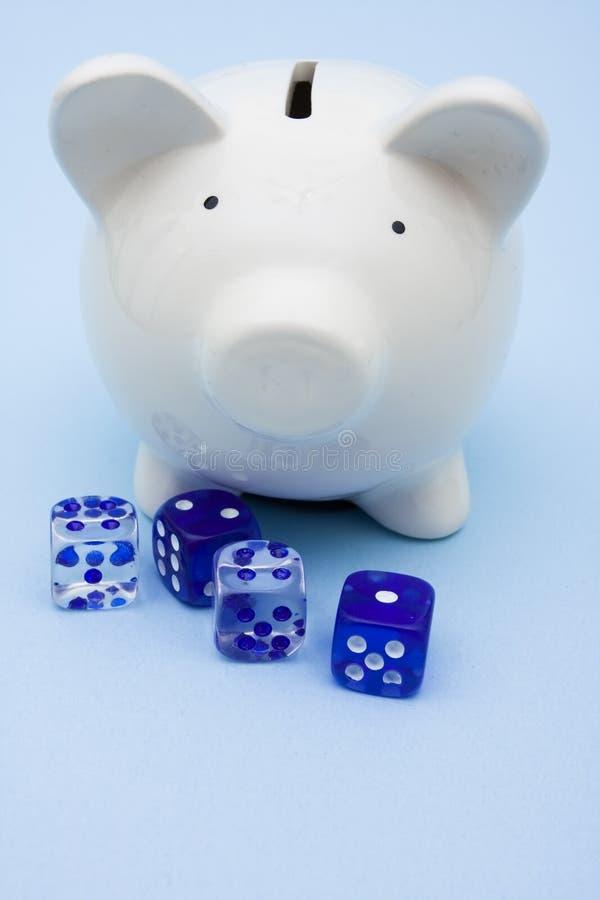 投资风险 免版税库存照片