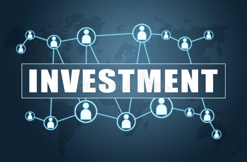 投资 向量例证