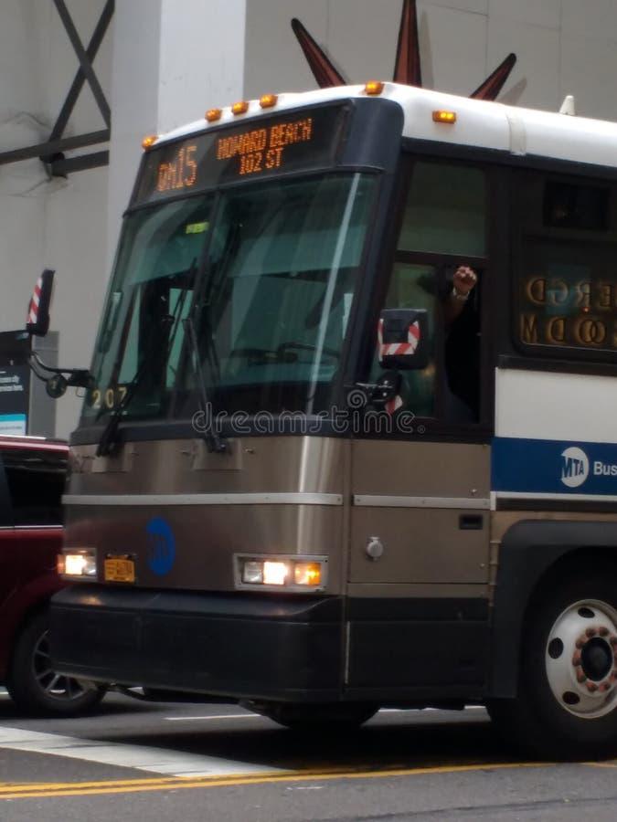抗议的拳头白种人霸权和唐纳德・川普, NYC, NY,美国 库存图片