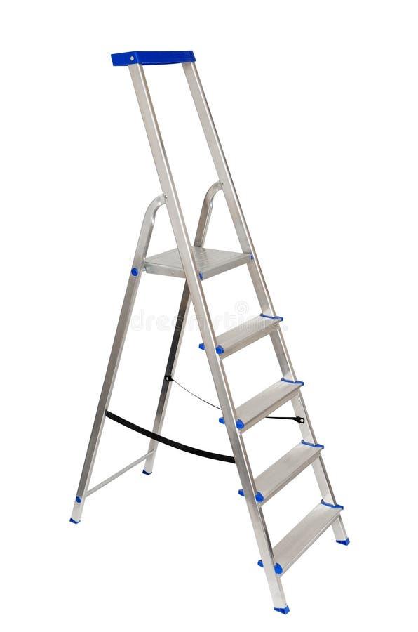 折叠梯子 库存图片