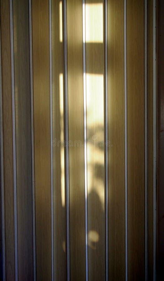 折叠门,与阴影 免版税库存照片