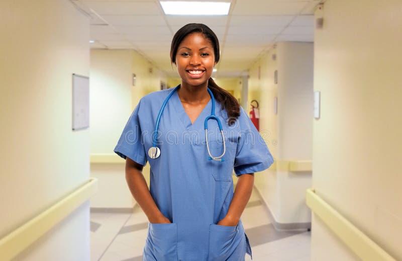 护士画象 免版税图库摄影