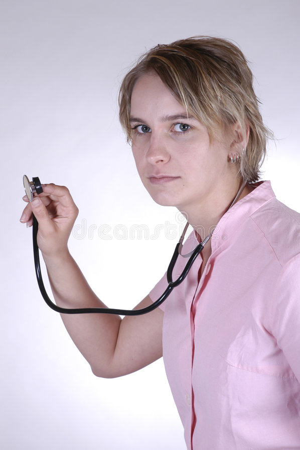 护士 免版税库存照片