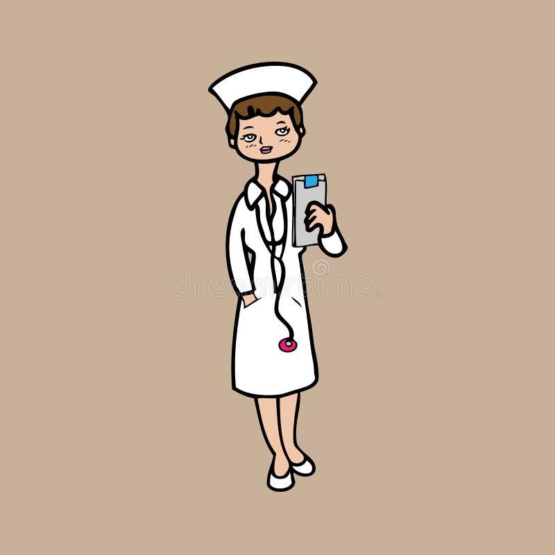 护士 库存例证
