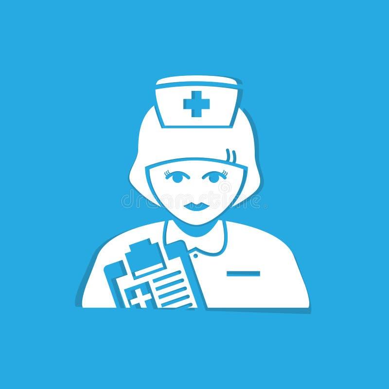 护士 皇族释放例证
