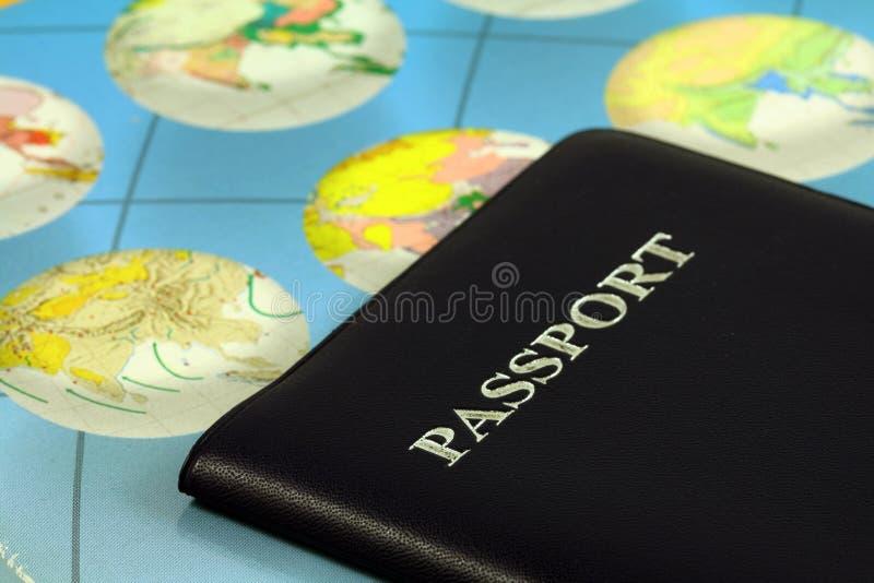 护照旅行 免版税库存照片