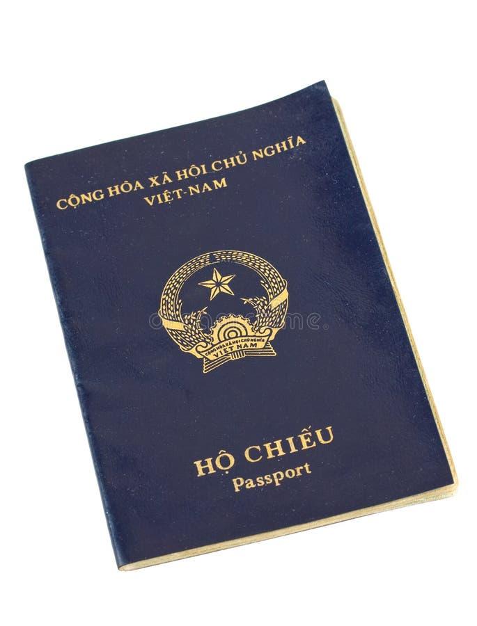 护照越南 库存照片