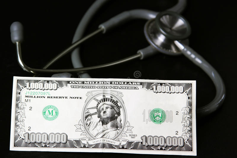 护理费用健康 免版税库存图片
