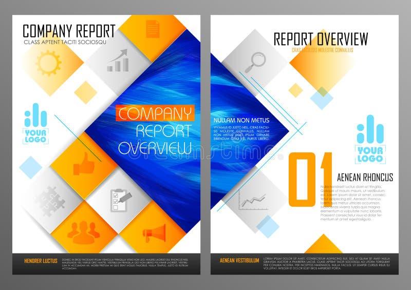 Download 年终报告和介绍模板设计 向量例证. 插画 包括有 格式, 简讯, 创造性, 背包, 编辑可能, 商业, 总公司 - 72360657