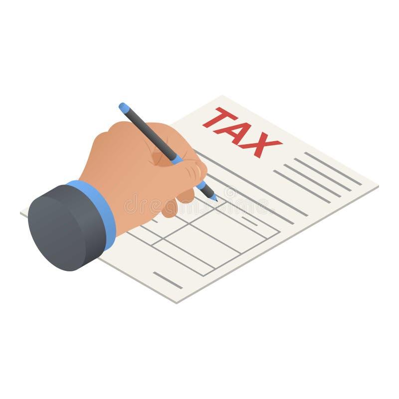 报税表象,等量样式 皇族释放例证